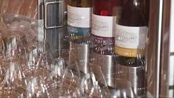 Willamette Valley Vineyards Tasting Room at Travel Salem's Travel Cafe Visitor Center