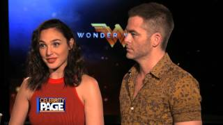 Wonder Woman: Gal Gadot and Chris Pine