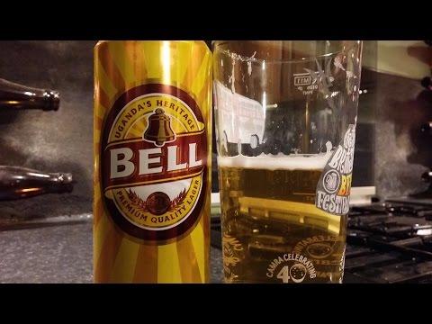 (4K) Bell Premium Lager Kenya Breweries Limited | Uganda Beer Review