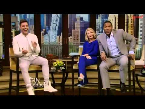 Ricky Martin Interview   Live with Kelly and Michael 2015