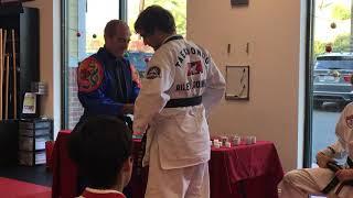 Black Belt Ceremony - Riley Moorhead rank presentation (Dec 8, 2018)