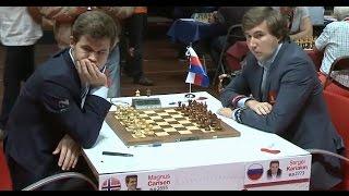 Карлсен разгромил Сергея Карякина в одни ворота!