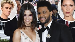 """A source close to selena gomez & the weeknd says two are """"head over heels"""" in love. also said quote """"this relationship is very different than ..."""