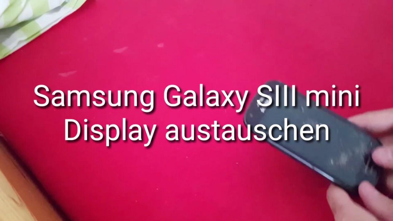 samsung galaxy s3 mini display selber austauschen youtube. Black Bedroom Furniture Sets. Home Design Ideas
