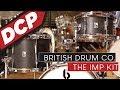 British Drum Company Imp 3 Piece Drum Set