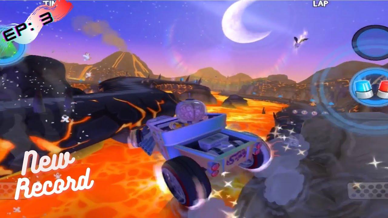 แข่งรถสถิติโลก EP.3 : บินข้ามภูเขาไฟไปเลย | Map Death Bat ...