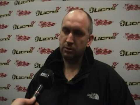 LionsTV - Post-Game Interview with Head Coach Matt Bradbury - Lions 2 Metros 0 - 12-02-12