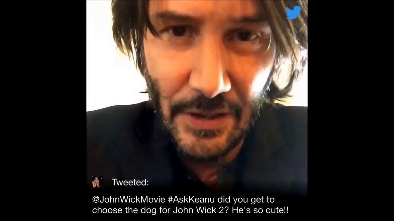 Keanu Reeves - Twitter Q&A - John Wick 2 (legendado) - YouTube