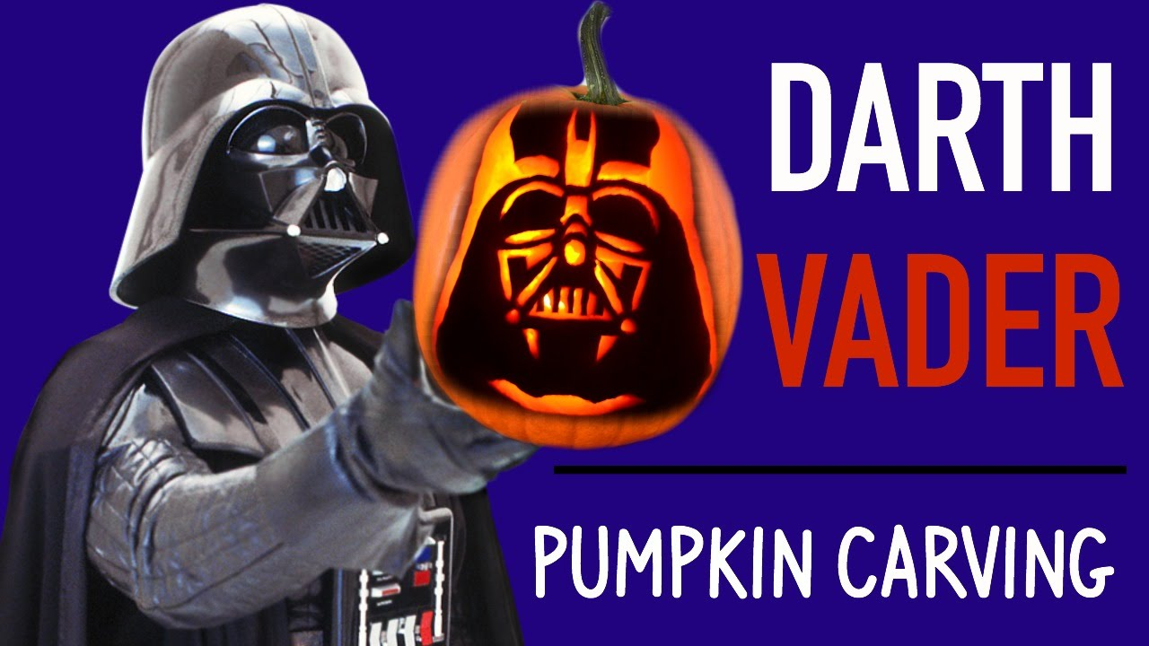 pumpkin carving darth vader star wars pumpkin carving ideas youtube - Star Wars Halloween Pumpkin Carving Patterns