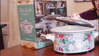 🍀 PIONEER WOMAN SLOW COOKER (6 QUART) CROCK POT REVIEW 👈