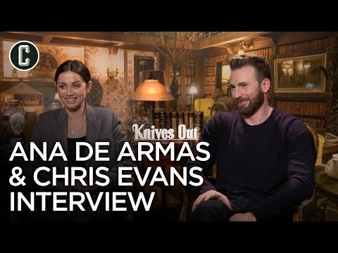 Knives Out: Chris Evans and Ana de Armas Interview