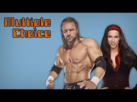 Triple H and Stephanie McMahon at a Wrestlemania Red Carpet-Event! (Interview / Multiple Choice)