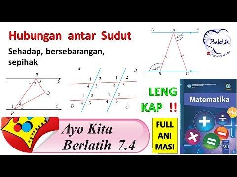 Ayo Kita Berlatih 7 4 Kelas 7 Semester 2 Smp Mts Matematika Garis Sudut Paket Bse Halaman 160 Youtube