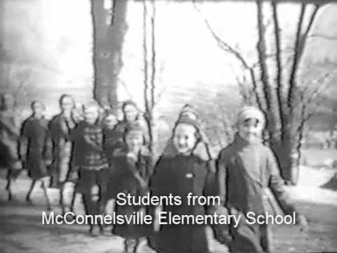 Malta and McConnelsville School Students - 1937