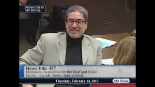 House Education Finance Committee  2/14/13