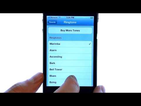 How Do I Change A Ringtone On My Apple iPhone 4S?