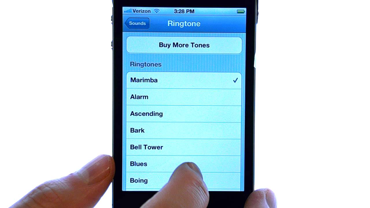 how to get ringtones on iphone 4s