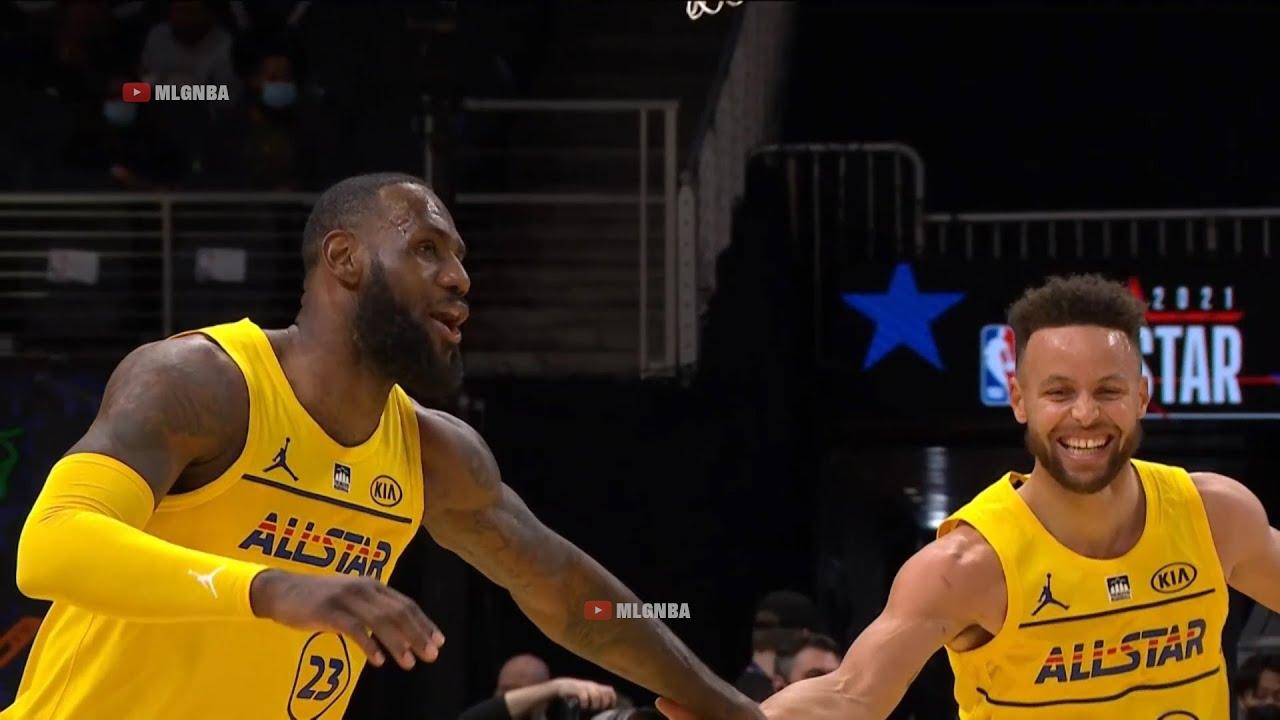 Download Team LeBron vs Team Durant Highlights 1st Qtr | 2021 NBA All-Star Game