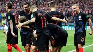 Mondial-2018 : la Croatie met fin au rêve anglais et rejoint les Bleus en finale