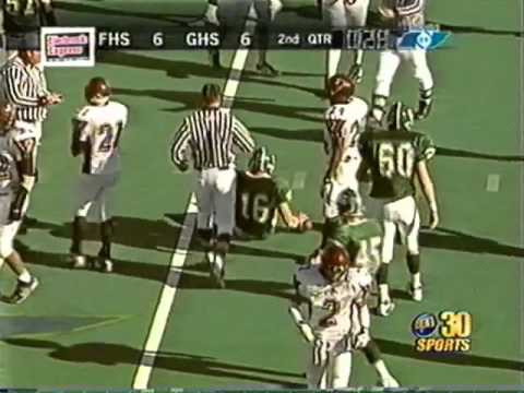 2004 Tennessee Class 3A Blue Cross Bowl Greenbrier High School vs. Knoxville Fulton
