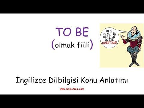 İngilizce Konu Anlatımı / To Be (Olmak Fiili)