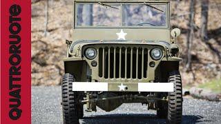 Il SUV che ha fatto la guerra: Jeep Willys Classic Test Drive