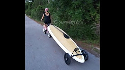 SUP Wheels Bike SUP Board Trailer