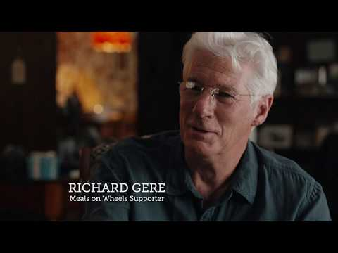 Richard Gere Reflects on Fathers Meals on Wheels Service