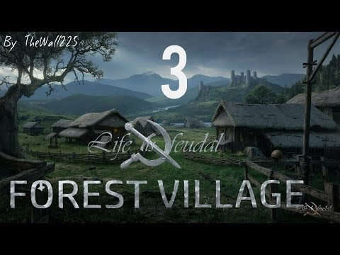 Life Is Feudal: Forest Village [Gameplay ITA #3] - ABITI PER TUTTI