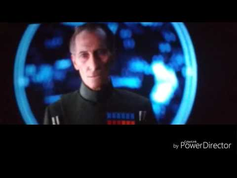 Leia and tarkin photos CGI ROGUE ONE