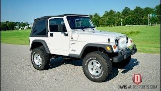 Davis AutoSports 2002 Jeep Wrangler Sport / Lifted / Test Drive / Video 2
