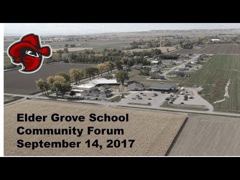 Elder Grove School Community Forum 09-14-2017