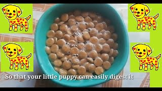 How to give Pedigree to your puppy #PetFood #DogHealth part-1
