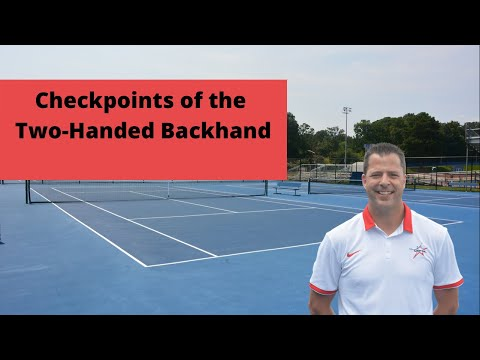How to hit a Perfect two-handed backhand (6 Simple Steps)