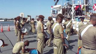 Indonesian Naval Cadets Dewaruci Opsail 2012 Virginia Part 1