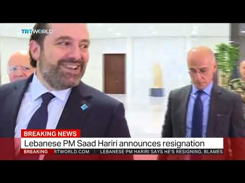 Lebanon's PM Hariri resigns, saying his life in danger