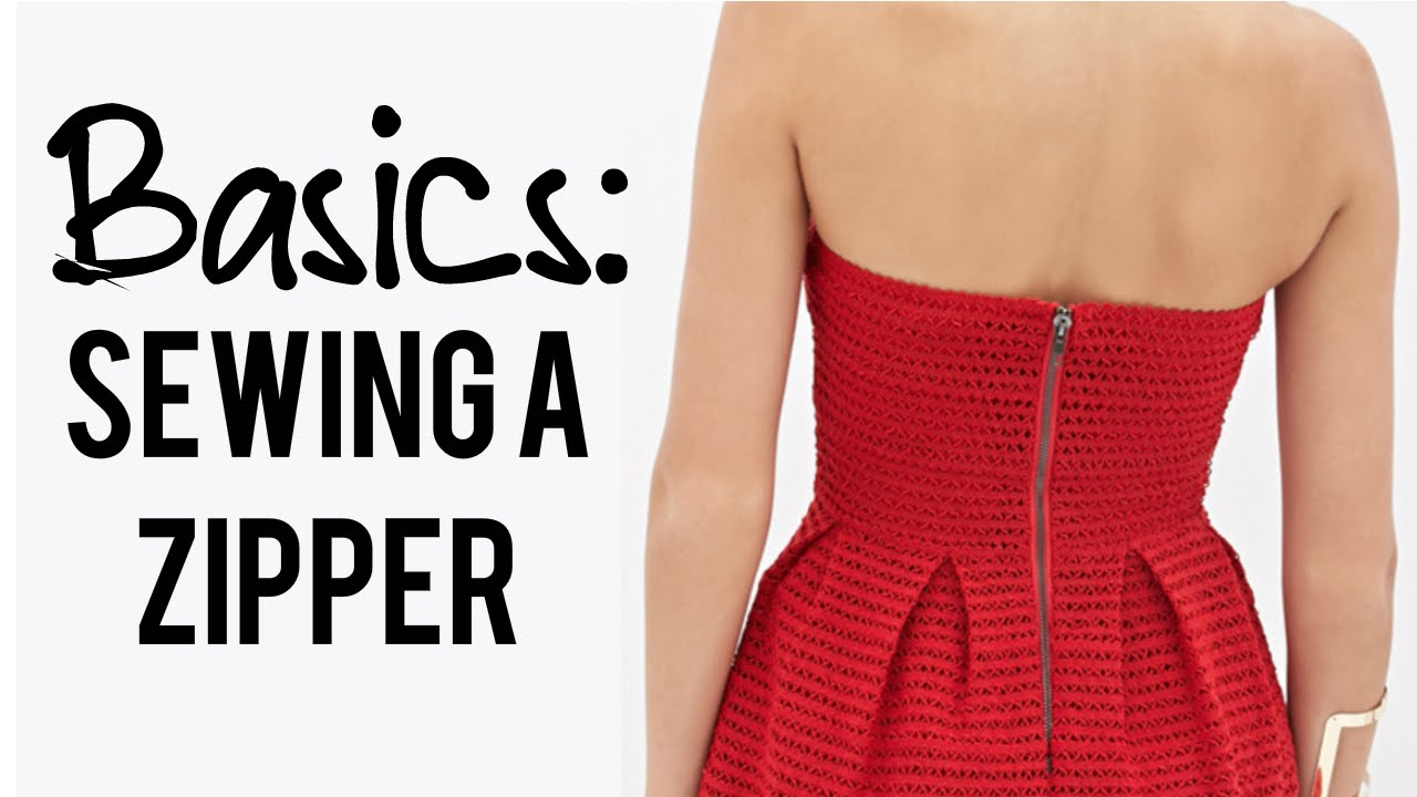 how to sew a dress with a sewing machine