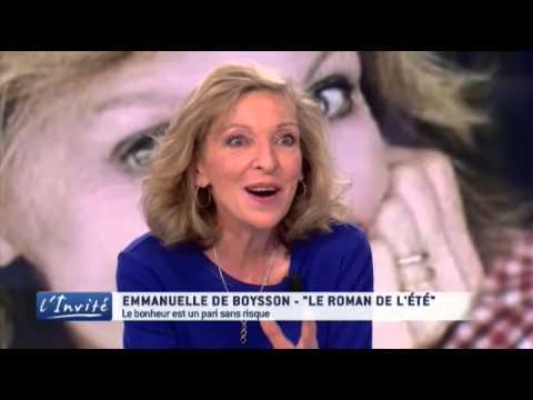 """Emmanuelle de BOYSSON : """"Le bonheur en héritage"""""""
