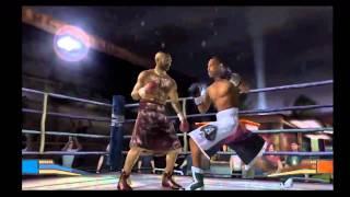 Fight Night Round 2 - Nintendo Gamecube - Roy Jones Jr. vs. Fabolous
