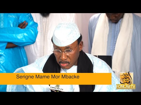 """""""FONCAB TV OFFICIAL OPENING  By"""" S. Mame Mor Mbacke Studio Taissiroul Hassir- Touba Detroit"""