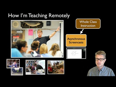 How I'm Teaching Remotely