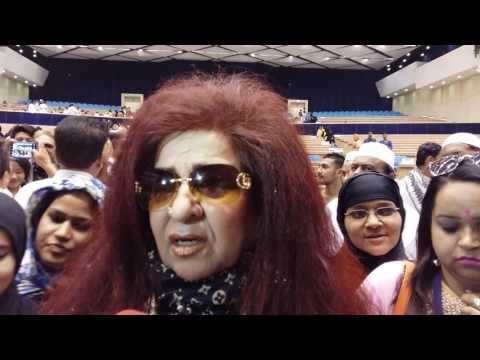 Beautician Shahnaz Hussain interview by Taasir at Delhi