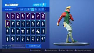 SKIN master key dancing all my Takeda YT fortnite dances