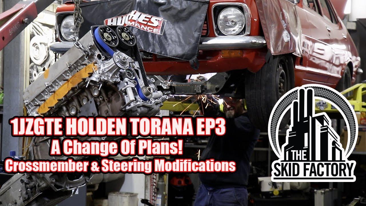 1JZGTE POWERED LJ HOLDEN TORANA EP 3 - THE SKID FACTORY
