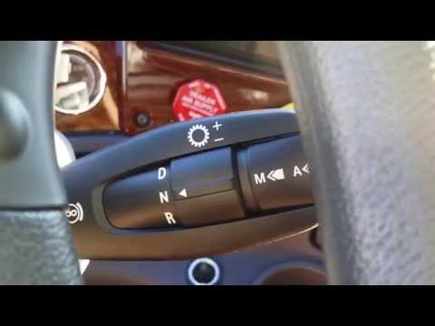 HOW TO shift automatic transmission in Semi Truck, Peterbilt, Volvo, Freightliner (close-up)