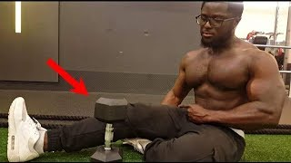Chest and Tricep Home Workout (ONE Dumbbell NEEDED)