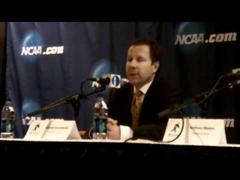 Denver coach George Gwozdecky, March 27, 2011