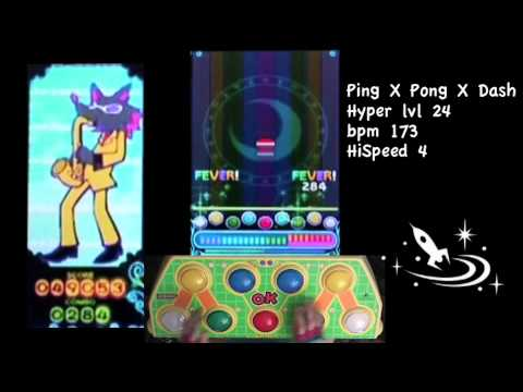 Pop'n music : Ping X Pong X Dash (Hyper 24) - Player : DamDam