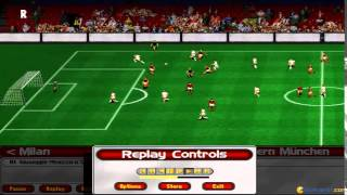 Ultimate Soccer Manager 98 gameplay (PC Game, 1998)