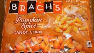 Brach's: Pumpkin Spice Candy Corn Review - Fall/halloween